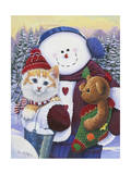 Winter Wonder Pals Giclee Print by Jenny Newland
