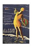 Alassio Giclee Print