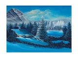 Winter Scene Giclee Print by Bonnie B. Cook