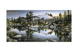 Alpenglow Giclee Print by Jeff Tift
