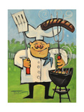 Backyard Bistro Giclee Print by Tim Nyberg