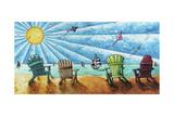 Beach Life II Giclee Print by Megan Aroon Duncanson