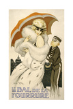 Bal De La Fourrure Giclee Print