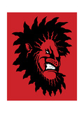 Angry Lion Giclee Print by Steven Wilson