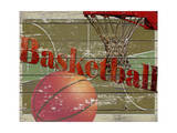 Basketball Giclee Print by Karen Williams