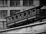 Angels Flight at Third and Hill Streets, Los Angeles Photographic Print