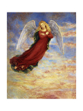 Angel in the Sky Giclee Print by Edgar Jerins