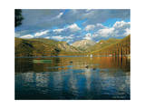 Vista of Grand Lake, Colorado Giclee Print by John Zaccheo