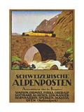 Alpen Posten Giclee Print