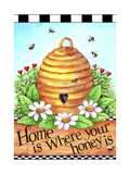 Bee Hive Home Giclee Print by Melinda Hipsher
