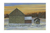 Whisky Run Sunset Giclee Print by Jerry Cable
