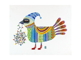 Christmas Bird Giclee Print by Nathaniel Mather