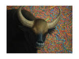 Bull Giclee Print by James W. Johnson