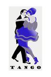 Blue Tango Giclee Print