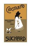 Cioccolatto Suchard Littlegirl Horse Stampa giclée