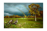 Cades Cove Rainbow Giclee Print by Spencer Williams