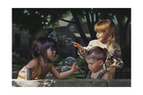 Bubbles Giclee Print by Bob Byerley