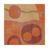 Abstrakt III Giclée-tryk af Erin Clark