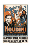 Do Spirits Return, Houdini Giclee Print