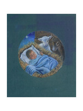 Cradled in His Love Giclee Print by Tricia Reilly-Matthews