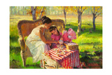 Afternoon Tea Giclee Print by Steve Henderson