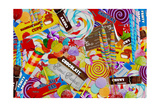 Candy Collage 2 Giclee Print by Megan Aroon Duncanson