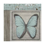Butterfly Blue Giclee Print by Karen Williams