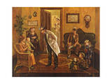 Doctors Office Giclee Print by Lee Dubin