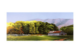 Cades Cove Barn Giclee Print by Spencer Williams