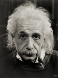 Albert Einstein - Fotografik Baskı