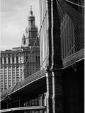 Brooklyn Bridge Civic Center, NYC Photographic Print by Jeff Pica