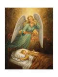 Angel 12 Giclée-tryk af Edgar Jerins