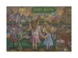 Candy Heaven Giclee Print by Tricia Reilly-Matthews