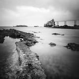 Biarritz Fotodruck von Nina Papiorek