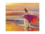 Catching the breeze Lámina giclée por Steve Henderson