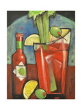 Bloody Mary Giclee Print by Tim Nyberg