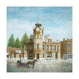 Arnprior Post Office with Horse and Buggy Reproduction procédé giclée par Kevin Dodds