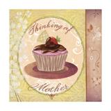 Cupcake Holidays II Giclee Print by Fiona Stokes-Gilbert
