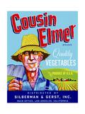 Cousin Elmer Giclee Print