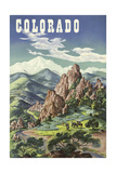 Colorado Giclee Print