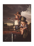Deputies Giclee Print by Bob Byerley