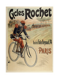 Cycles Rochet Giclee Print