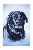 Black Lab Giclee Print by Rusty Frentner
