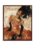 Cabaret Chocolate Giclee Print