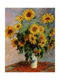 Bouquet of Sunflowers Giclee Print