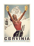 Cervinia - Giclee Baskı