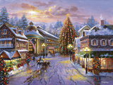 Christmas Eve Giclee Print by Nicky Boehme