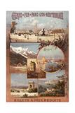 Chemins de Fer de Paris Lyon Giclee Print