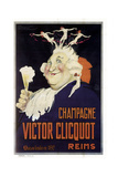 Champagne Cliquot Giclee Print