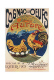 Cognac Oeufs Giclee Print
